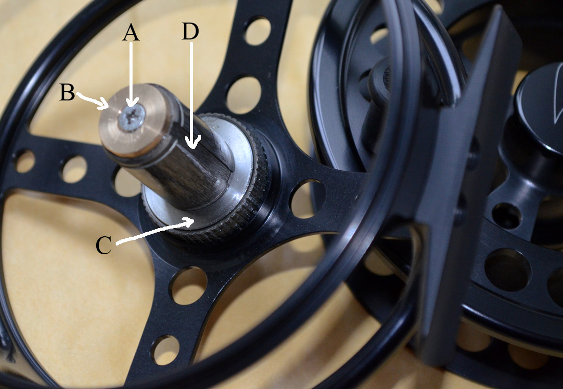 Reverse the drag on a Barrio fly reel
